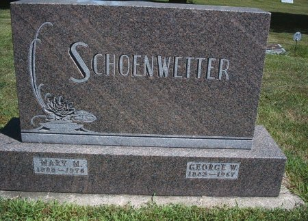 SCHOENWETTER, MARY M - Hancock County, Iowa | MARY M SCHOENWETTER