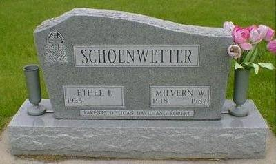 SCHOENWETTER, MILVERN W - Hancock County, Iowa | MILVERN W SCHOENWETTER