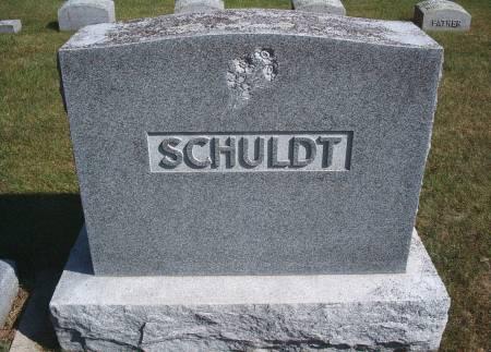SCHULDT, FAMILY MONUMENT - Hancock County, Iowa   FAMILY MONUMENT SCHULDT