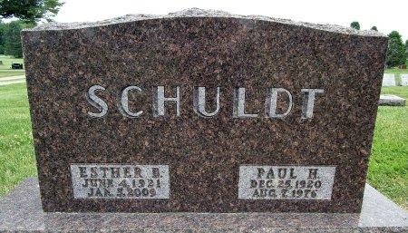 SCHULDT, PAUL H - Hancock County, Iowa | PAUL H SCHULDT
