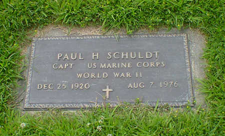 SCHULDT, PAUL H - Hancock County, Iowa | PAUL H SCHULDT