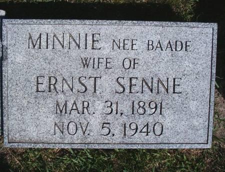 SENNE, MINNIE - Hancock County, Iowa | MINNIE SENNE