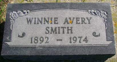 SMITH, WINNIE AVERY - Hancock County, Iowa | WINNIE AVERY SMITH
