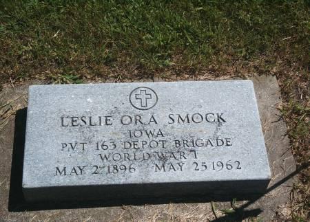 SMOCK, LESLIE O - Hancock County, Iowa | LESLIE O SMOCK