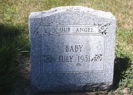 SPITLER, INFANT - Hancock County, Iowa   INFANT SPITLER