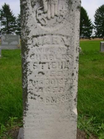 STIEHL, MARY - Hancock County, Iowa | MARY STIEHL