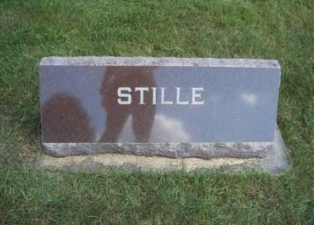STILLE, FAMILY MONUMENT - Hancock County, Iowa | FAMILY MONUMENT STILLE