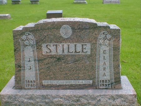 STILLE, CLARA - Hancock County, Iowa | CLARA STILLE