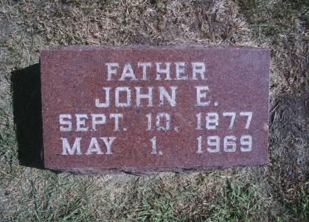 STILLE, JOHN E - Hancock County, Iowa | JOHN E STILLE