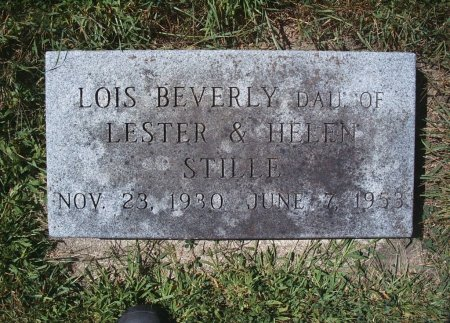 STILLE, LOIS BEVERLY - Hancock County, Iowa | LOIS BEVERLY STILLE