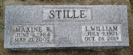 STILLE, MAXINE R - Hancock County, Iowa | MAXINE R STILLE
