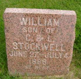 STOCKWELL, WILLIAM - Hancock County, Iowa | WILLIAM STOCKWELL