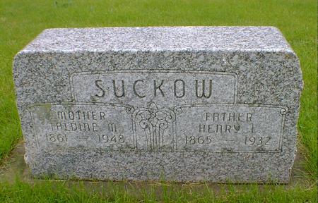 SUCKOW, HENRY L - Hancock County, Iowa | HENRY L SUCKOW