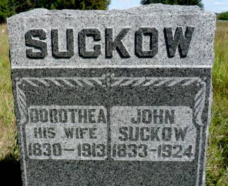 SUCKOW, JOHN - Hancock County, Iowa | JOHN SUCKOW