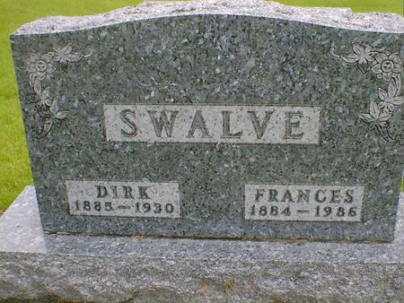 SWALVE, FRANCES - Hancock County, Iowa | FRANCES SWALVE