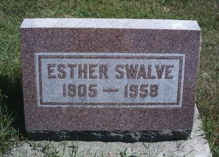 WENZ SWALVE, ESTHER - Hancock County, Iowa | ESTHER WENZ SWALVE