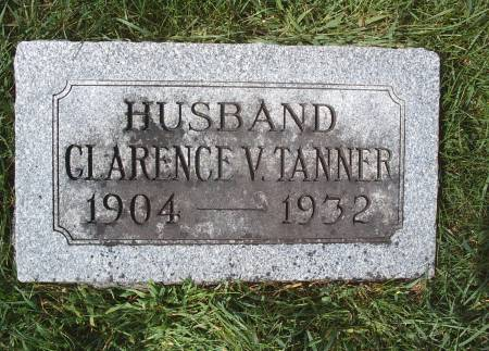 TANNER, CLARENCE V - Hancock County, Iowa | CLARENCE V TANNER