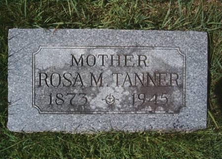 TANNER, ROSA M - Hancock County, Iowa | ROSA M TANNER