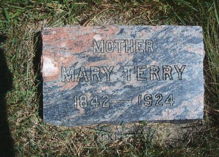 TERRY, MARY - Hancock County, Iowa | MARY TERRY