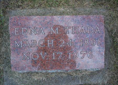 ERICKSON THADA, EDNA M - Hancock County, Iowa | EDNA M ERICKSON THADA