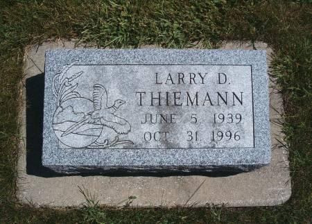 THIEMANN, LARRY D - Hancock County, Iowa | LARRY D THIEMANN