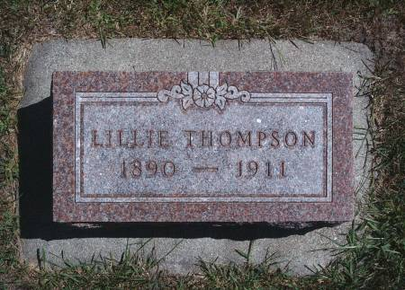 THOMPSON, LILLIE - Hancock County, Iowa | LILLIE THOMPSON