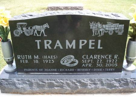 TRAMPEL, CLARENCE R - Hancock County, Iowa | CLARENCE R TRAMPEL