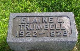 TRUMBELL, ELAINE L - Hancock County, Iowa | ELAINE L TRUMBELL