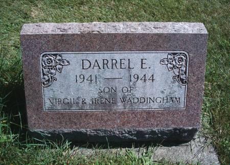 WADDINGHAM, DARREL E - Hancock County, Iowa | DARREL E WADDINGHAM