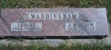 JAHNKE WADDINGHAM, LOUISE - Hancock County, Iowa | LOUISE JAHNKE WADDINGHAM