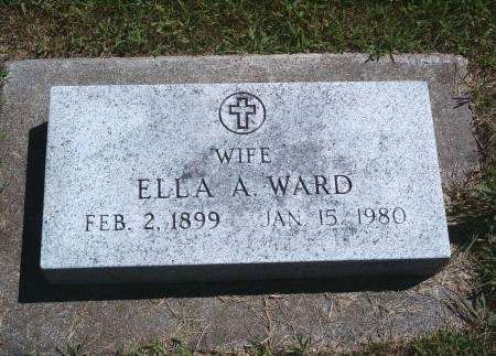 WARD, ELLA A - Hancock County, Iowa | ELLA A WARD