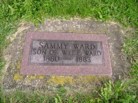 WARD, SAMMY - Hancock County, Iowa | SAMMY WARD