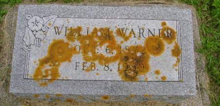 WARNER, WILLIAM - Hancock County, Iowa | WILLIAM WARNER