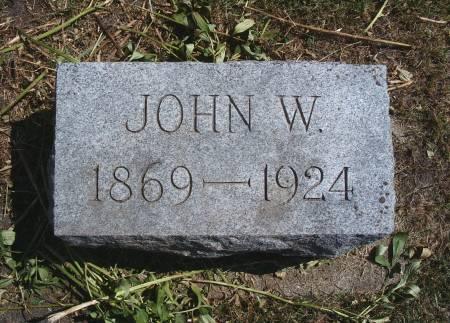 WATERMAN, JOHN W - Hancock County, Iowa | JOHN W WATERMAN