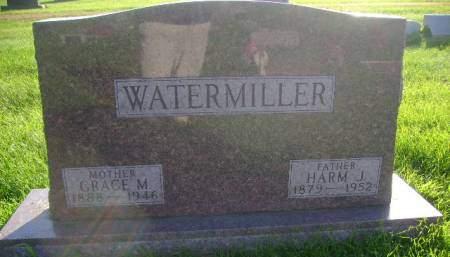 WATERMILLER, GRACE M - Hancock County, Iowa | GRACE M WATERMILLER