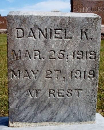 WEBNER, DANIEL K - Hancock County, Iowa   DANIEL K WEBNER