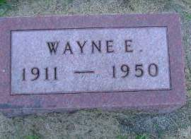 WESENBERG, WAYNE E - Hancock County, Iowa | WAYNE E WESENBERG