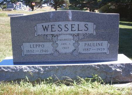 WESSELS, LEPPO - Hancock County, Iowa | LEPPO WESSELS