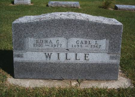 WILLE, CARL L - Hancock County, Iowa | CARL L WILLE