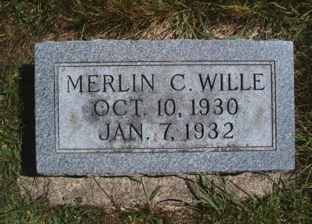 WILLE, MERLIN C - Hancock County, Iowa | MERLIN C WILLE