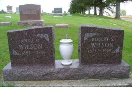 WILSON, ANNA O - Hancock County, Iowa | ANNA O WILSON
