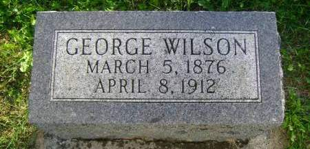 WILSON, GEORGE - Hancock County, Iowa | GEORGE WILSON