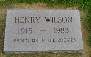 WILSON, HENRY - Hancock County, Iowa | HENRY WILSON
