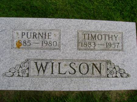 WILSON, TIMOTHY - Hancock County, Iowa | TIMOTHY WILSON