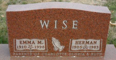 WISE, HERMAN - Hancock County, Iowa | HERMAN WISE