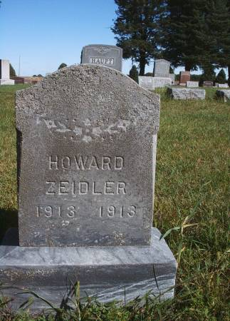 ZEIDLER, HOWARD - Hancock County, Iowa | HOWARD ZEIDLER