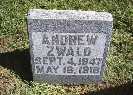 ZWALD, ANDREW - Hancock County, Iowa | ANDREW ZWALD