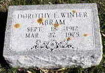 ABRAM, DOROTHY E. - Hardin County, Iowa | DOROTHY E. ABRAM