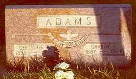 ADAMS, CHARLIE F. - Hardin County, Iowa | CHARLIE F. ADAMS