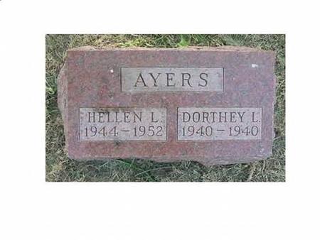 AYERS, HELLEN L & DORTHEY L - Hardin County, Iowa | HELLEN L & DORTHEY L AYERS